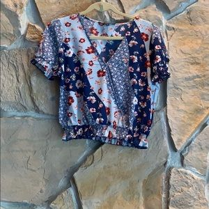One Love Clothing floral top